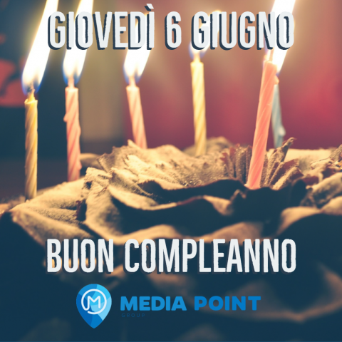 BUON COMPLEANNO MEDIAPOINT